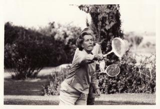 Diana D. badminton