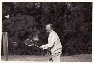 Tom D.badminton