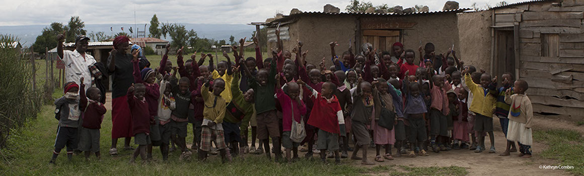 Elmenteita School children